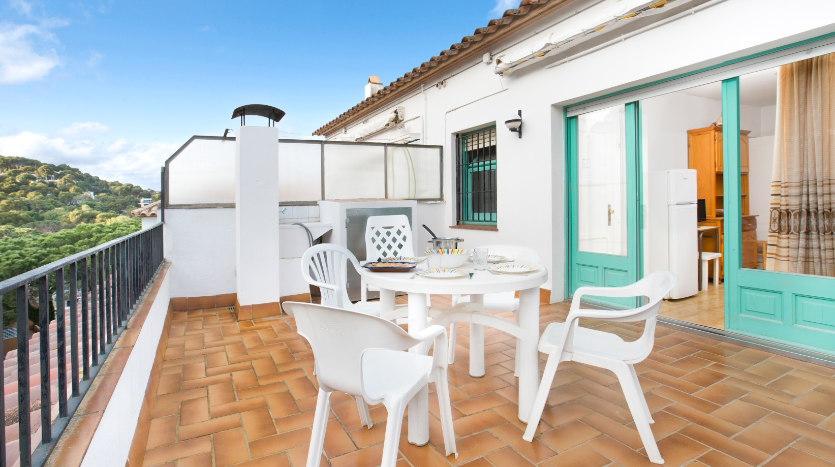 Rosa 5, Apartment in Llafranc, on the Costa Brava, Spain for 4 persons...