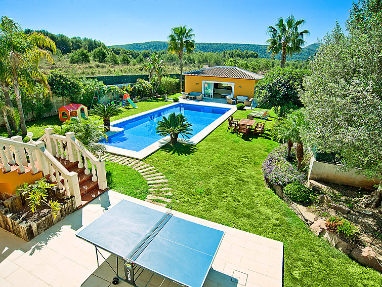 Casa Verano 8 pax, Large and comfortable villa in Javea, on the Costa Blanca, Spain  with private pool for 8 persons.....
