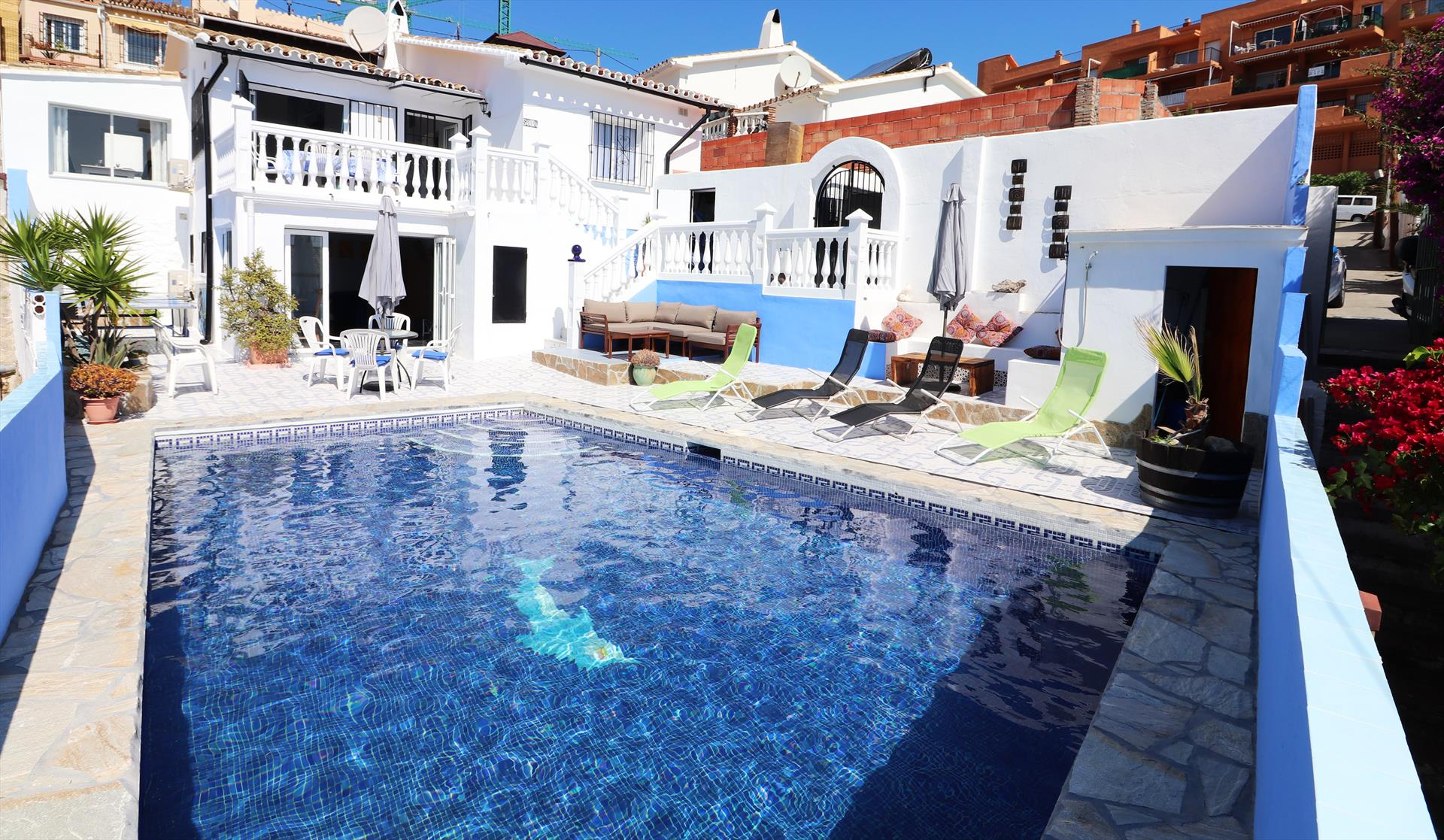 Alamos villa ihvav0419,Villa in Fuengirola, Andalusia, Spain  with private pool for 8 persons...