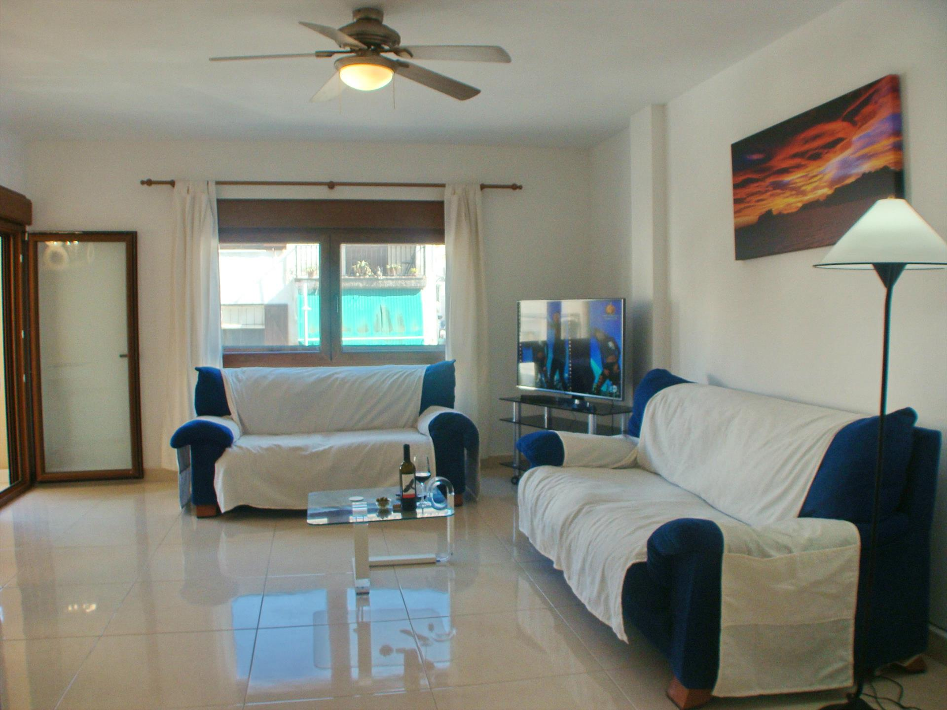 La Gaviota, Large and nice apartment in Moraira, on the Costa Blanca, Spain for 6 persons.....