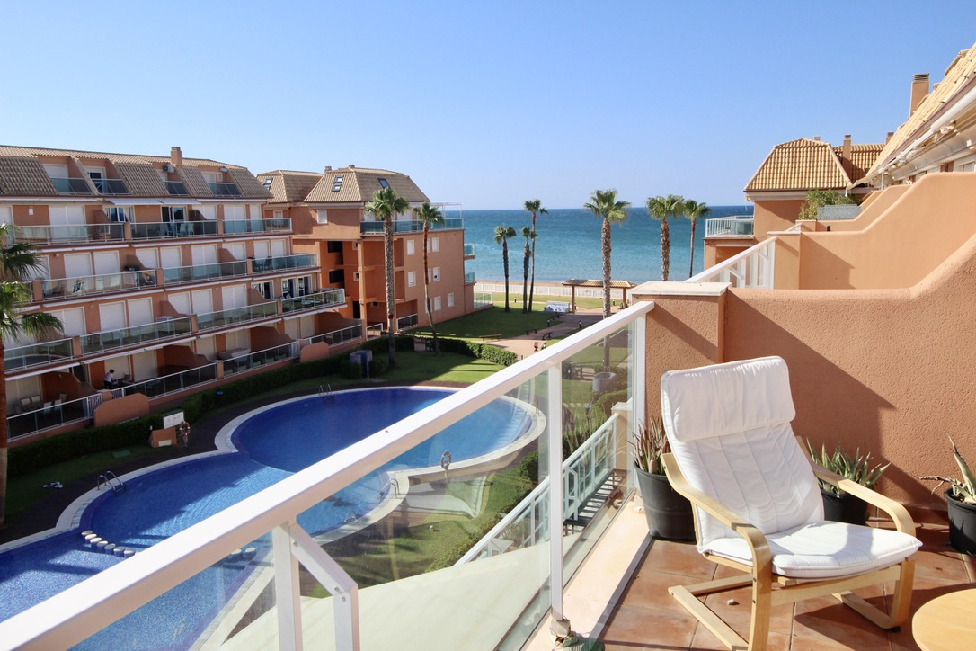 Mirador al Mar 74, Comfortable holiday house in Denia, on the Costa Blanca, Spain  with communal pool for 4 persons.....