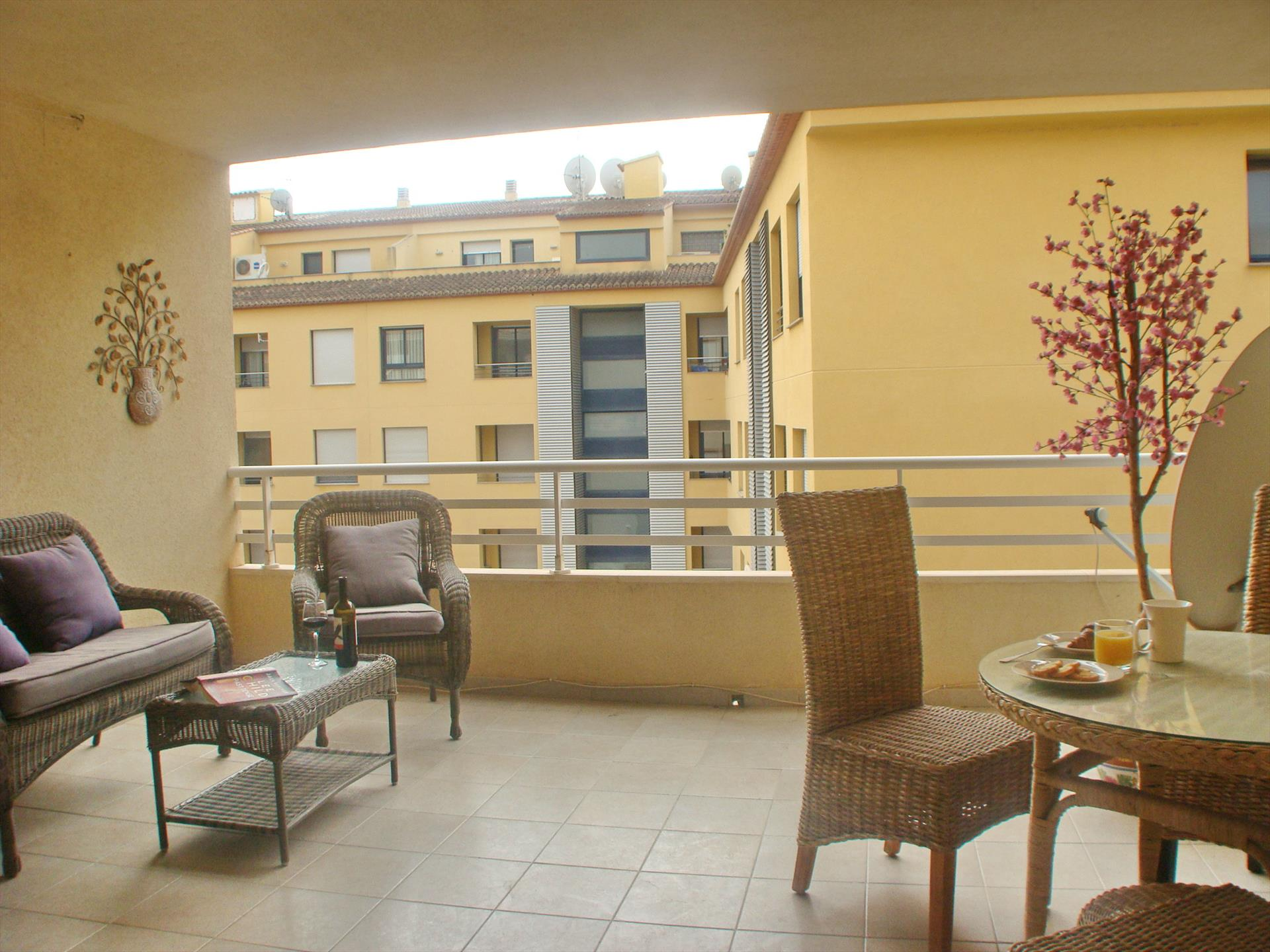 Piso El Paraiso, Comfortable apartment in Moraira, on the Costa Blanca, Spain for 4 persons.....