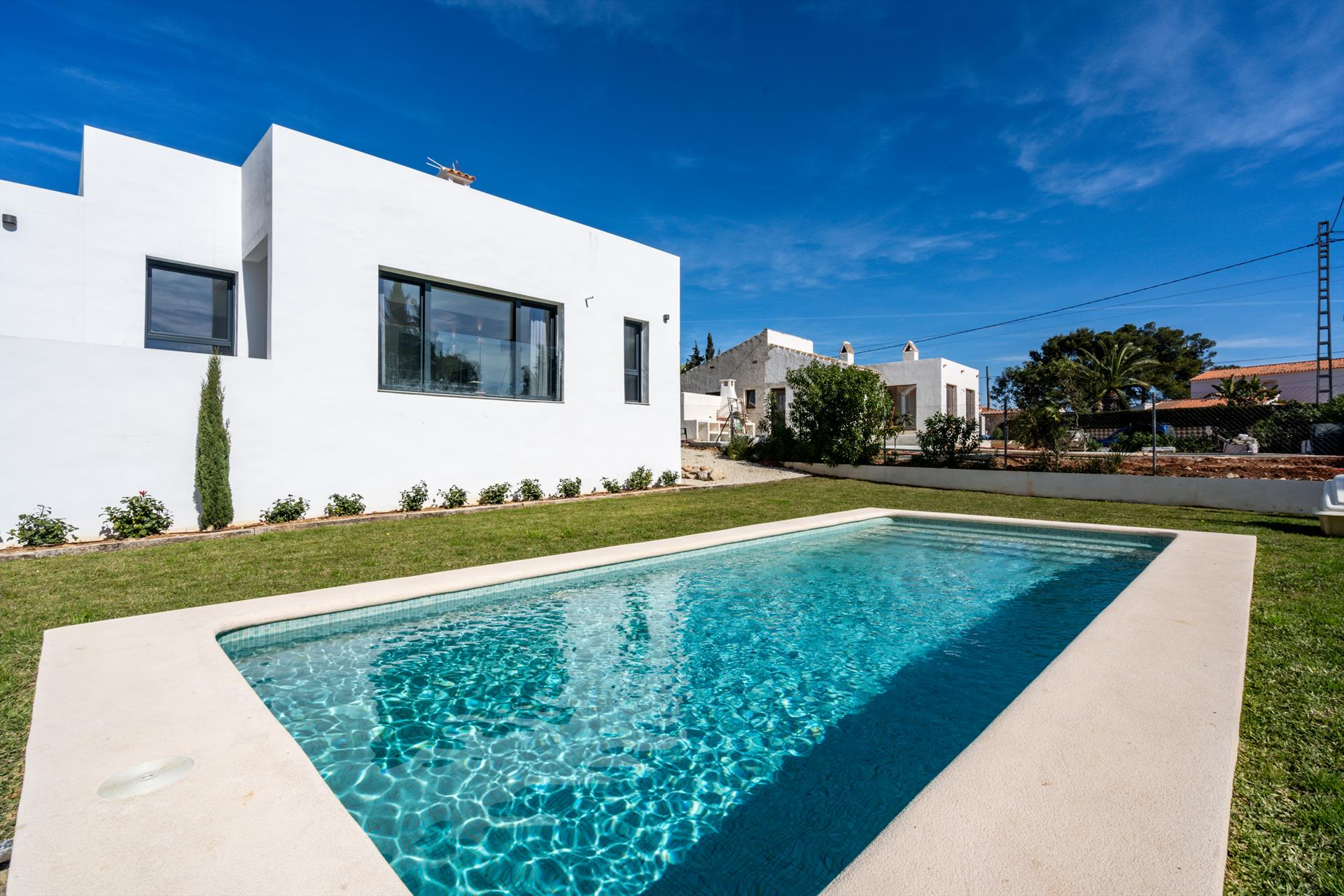 Adzavara, Modern and comfortable villa  with private pool in Javea, on the Costa Blanca, Spain for 8 persons...