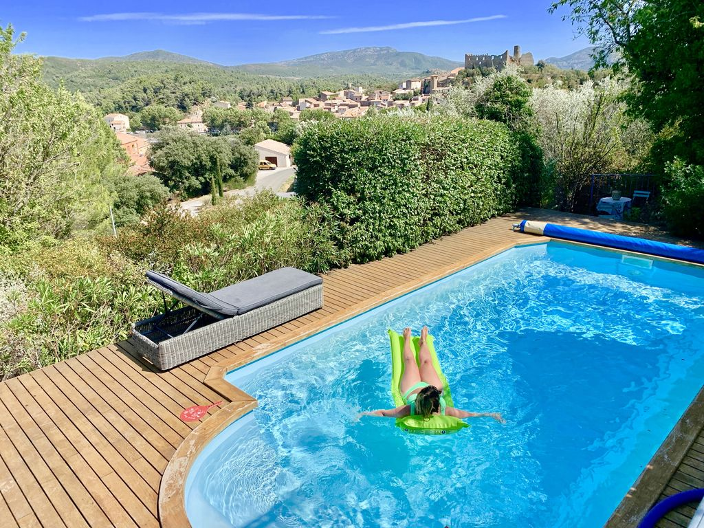 Chez noisette, Wonderful and comfortable villa  with heated pool in Durban Corbieres, Languedoc-Roussillon, France for 8 persons...