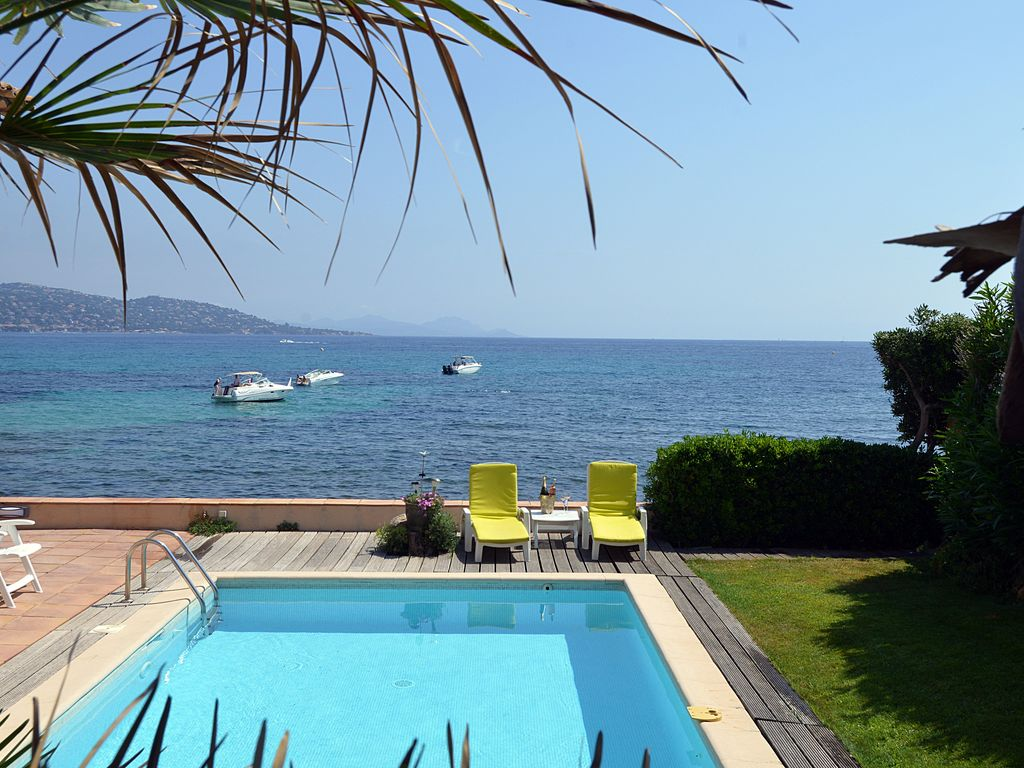 Villa sea breeze, Villa  with private pool in Sainte-Maxime, on the Cote d'Azur, France for 8 persons...
