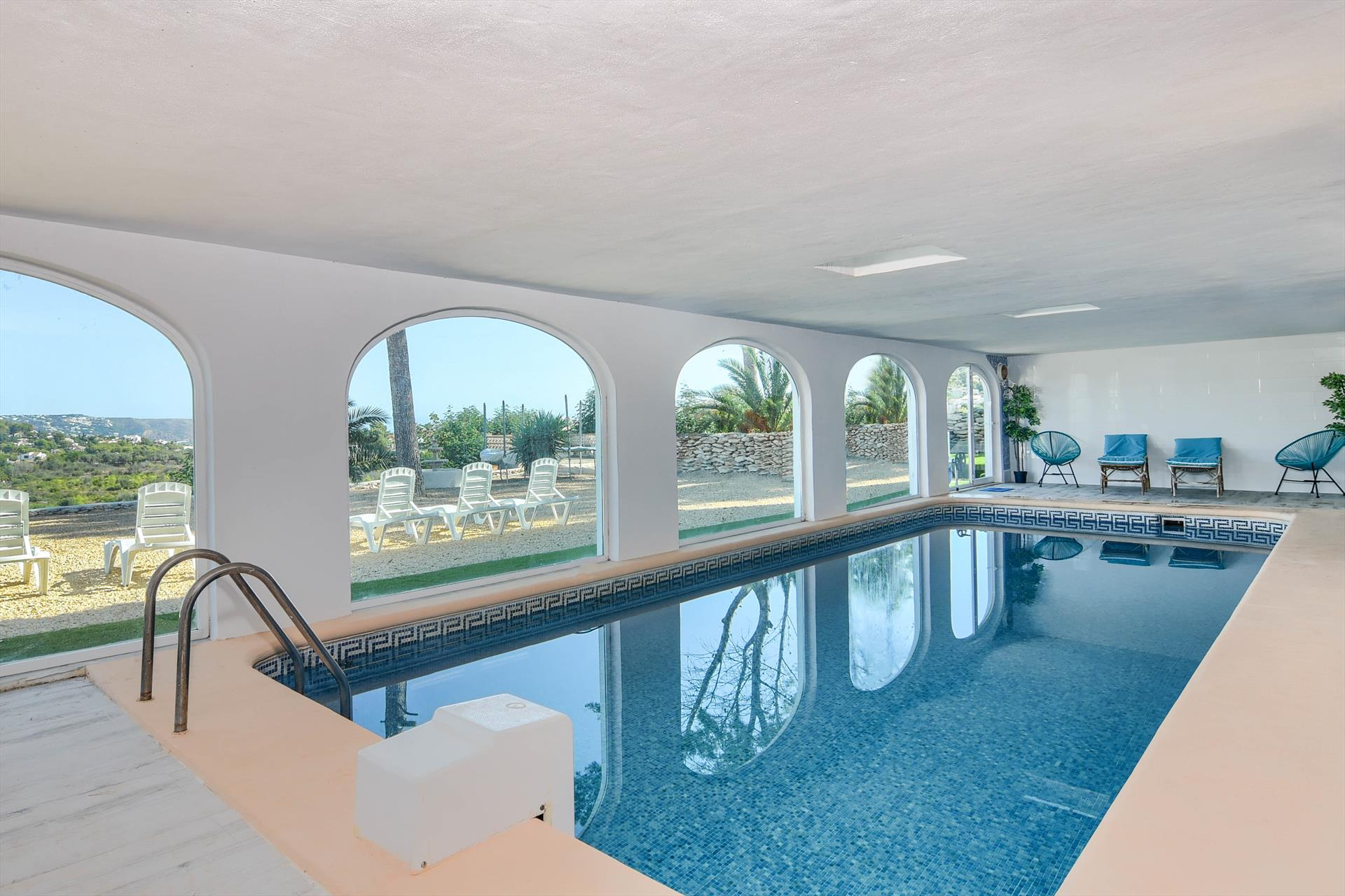 Kilima 8 pax, Large and comfortable villa in Javea, on the Costa Blanca, Spain  with heated pool for 8 persons.....