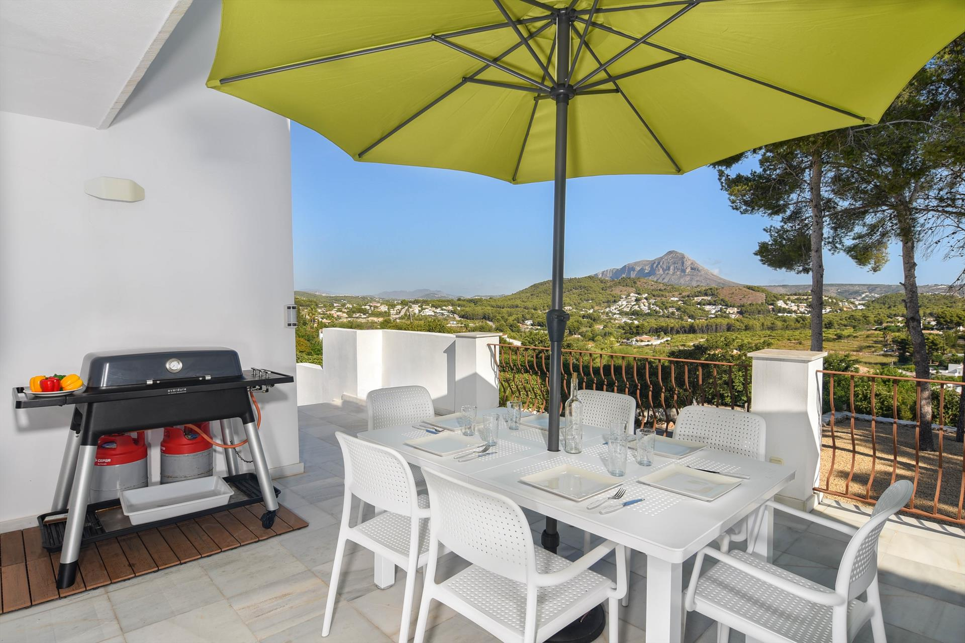 Kilima 6 pax, Wonderful and comfortable villa in Javea, on the Costa Blanca, Spain  with private pool for 6 persons...