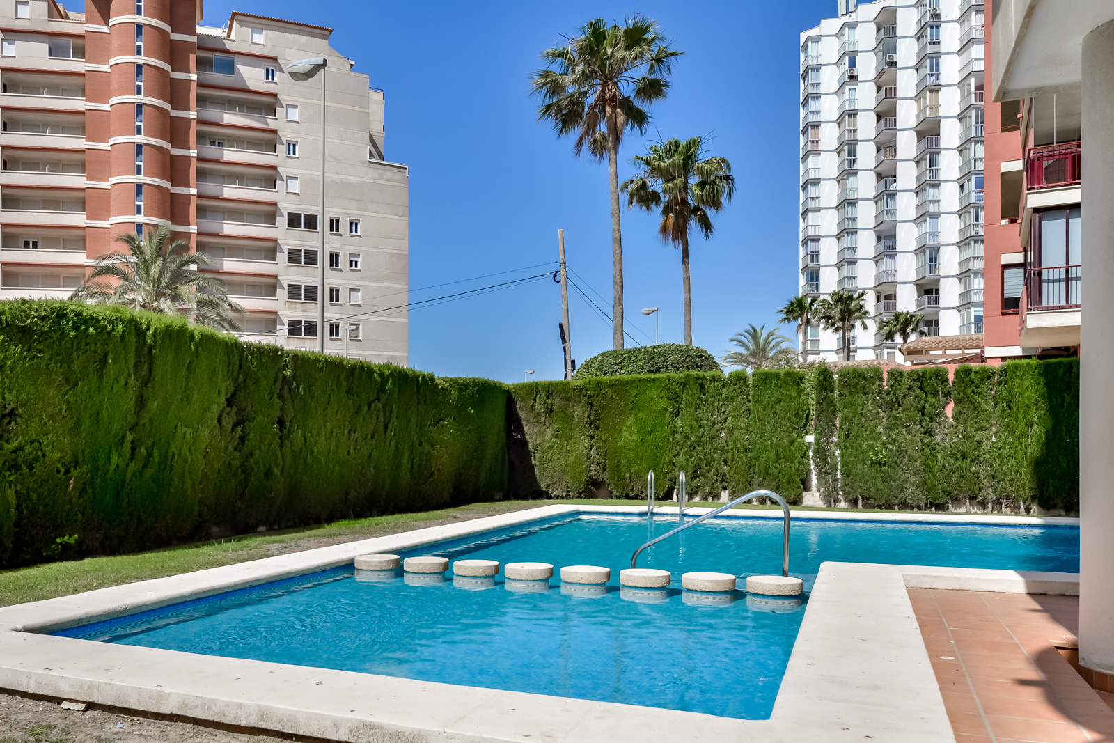 Apartamento Las Garzas 3A, Apartment  with communal pool in Calpe, on the Costa Blanca, Spain for 4 persons.....