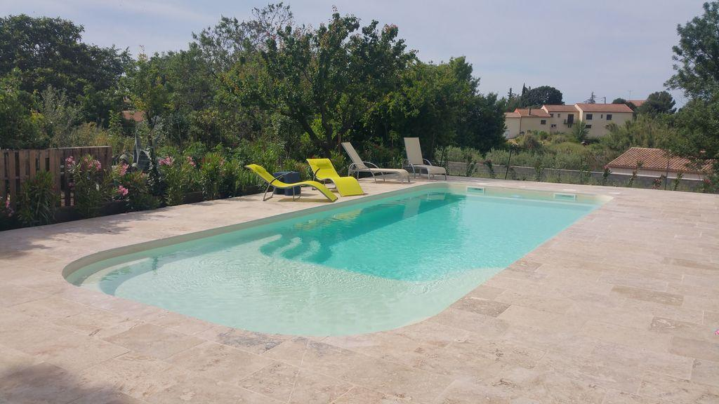Maison murviel, House  with heated pool in Murviel Les Beziers, Languedoc-Roussillon, France for 14 persons...