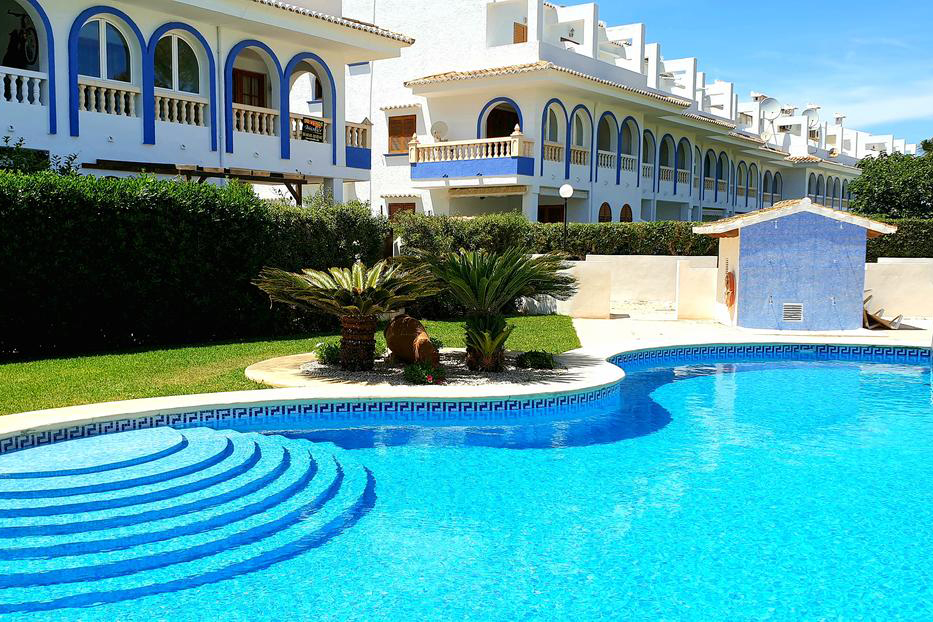AP2229 Torre Almadrava Llac Onega, Beautiful and comfortable apartment in Denia, on the Costa Blanca, Spain  with communal pool for 5 persons.....