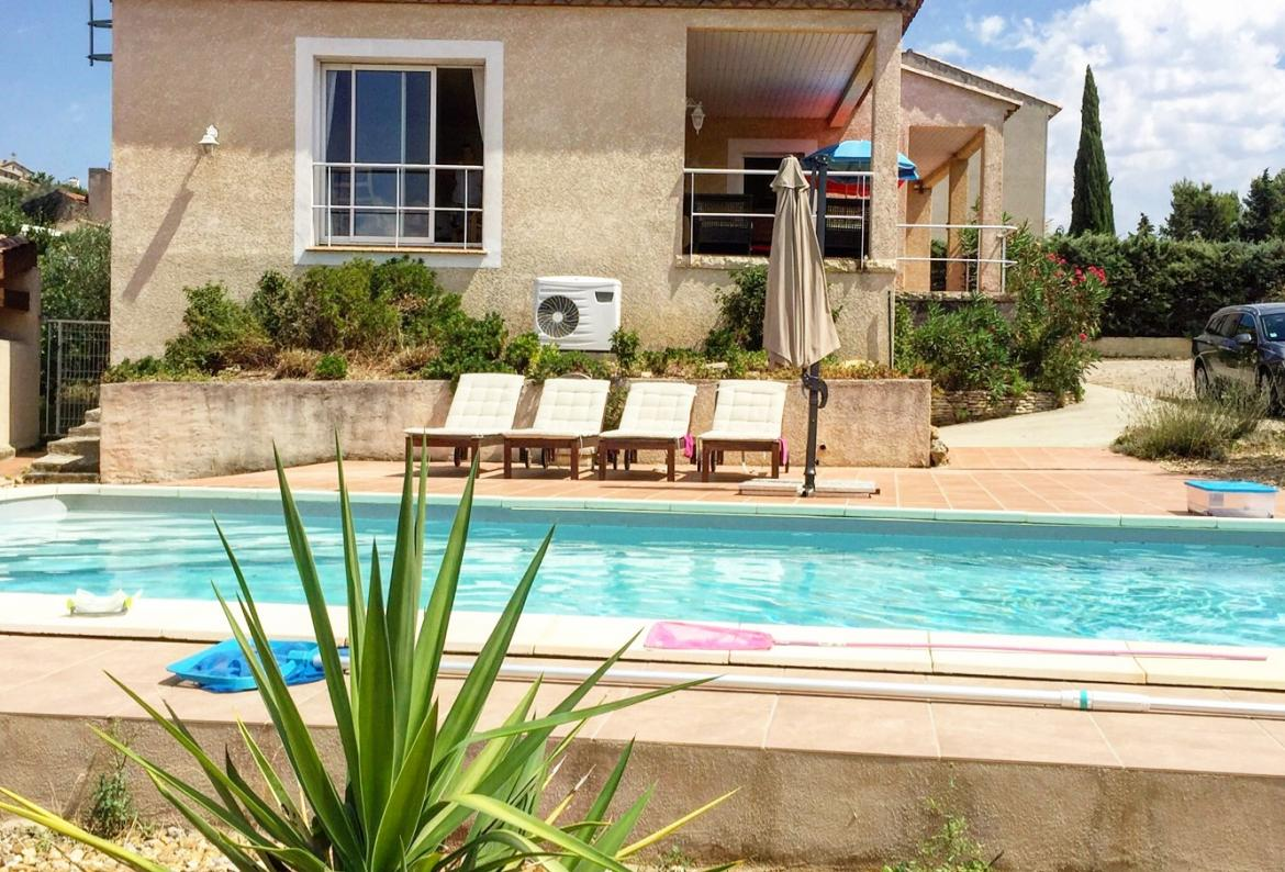 La montgolfiere, House in Puisserguier, Languedoc-Roussillon, France  with heated pool for 6 persons...