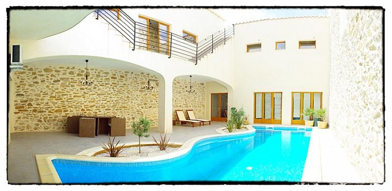 Les terraces, Villa in Argeliers, Languedoc-Roussillon, France  with private pool for 8 persons...