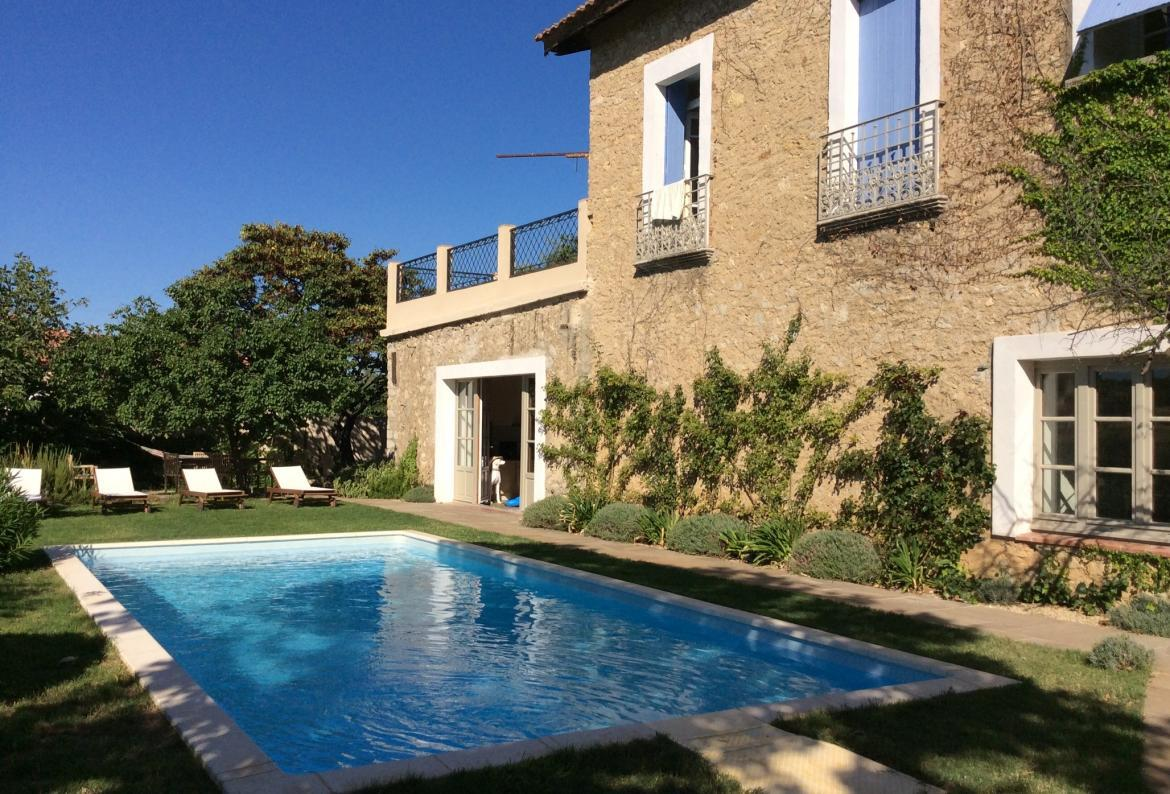 Moroccan paradise, Rustic and romantic country house in Murviel Les Beziers, Languedoc-Roussillon, France  with private pool for 10 persons...