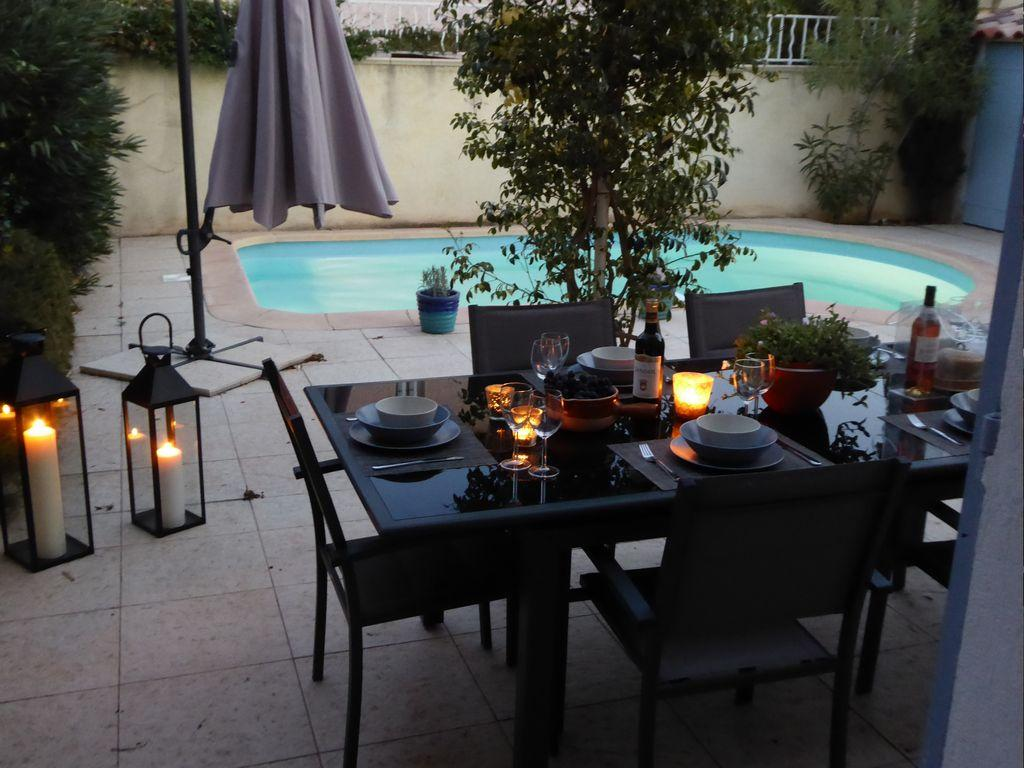 Morningside, Modern and comfortable holiday home  with private pool in La Seyne Sur Mer, Var, France for 8 persons...