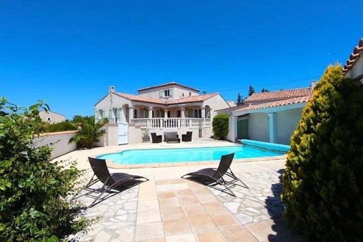 Villa de gasparets,Large and comfortable villa in Narbonne Plage, Languedoc-Roussillon, France  with private pool for 6 persons...