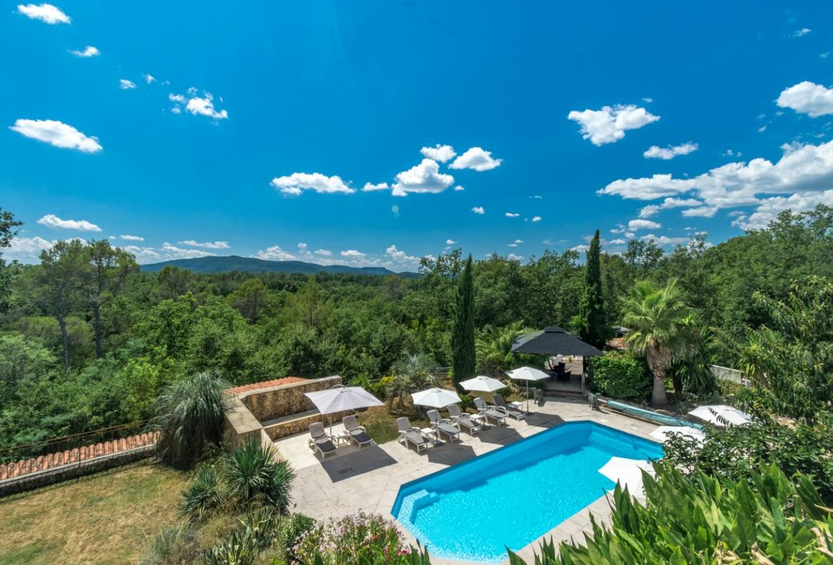 Villa douce, Modern and comfortable country house  with heated pool in Fayence, in the Provence, France for 12 persons...
