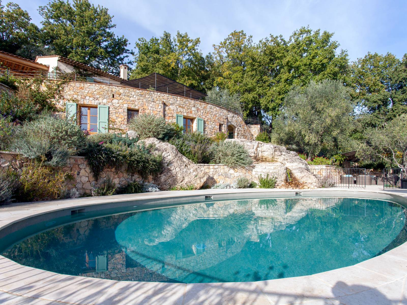 Villa bosquet, Modern and  luxury villa  with heated pool in Grasse, in the Provence, France for 8 persons...