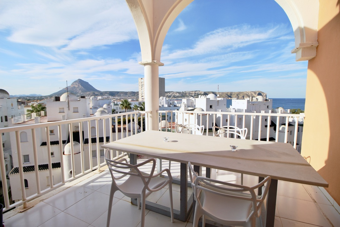 Golden Paradise 75,Beautiful and comfortable apartment  with communal pool in Javea, on the Costa Blanca, Spain for 2 persons.....