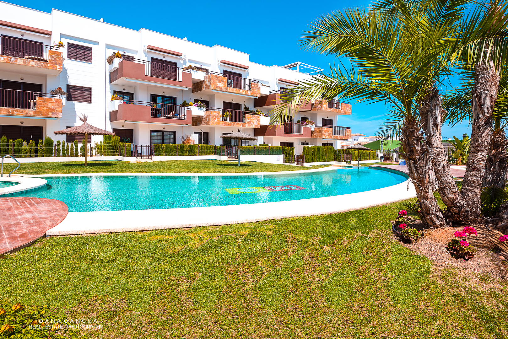 Silene 2, Large apartment  with communal pool in Orihuela Costa, on the Costa Blanca, Spain for 4 persons.....