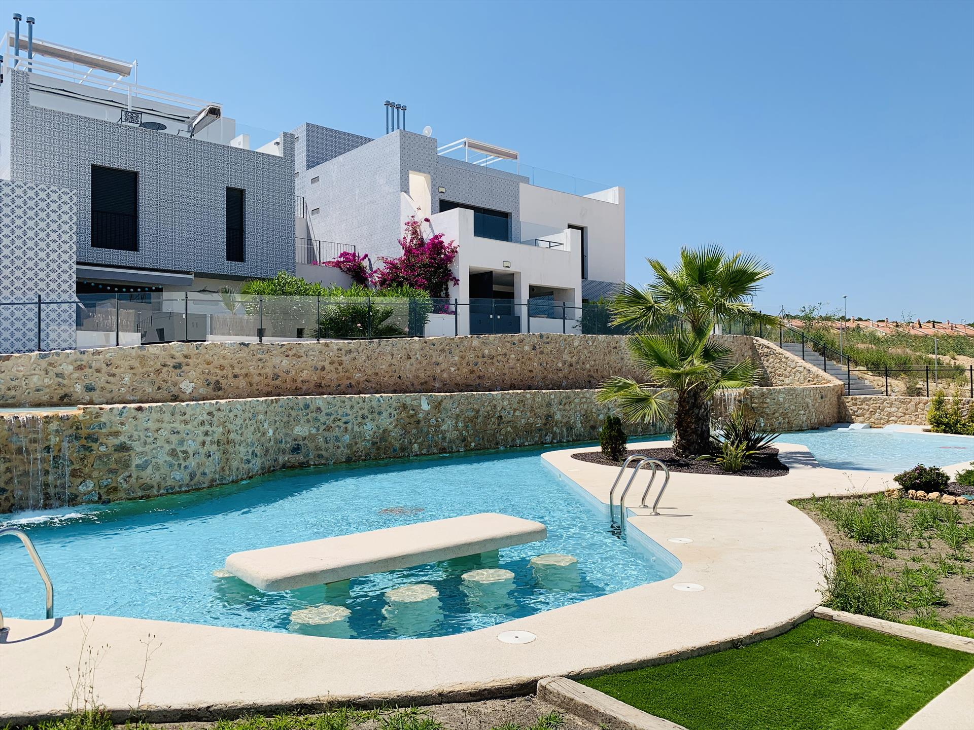 Coco, Modern apartment in San Miguel De Salinas, on the Costa Blanca, Spain  with communal pool for 8 persons.....