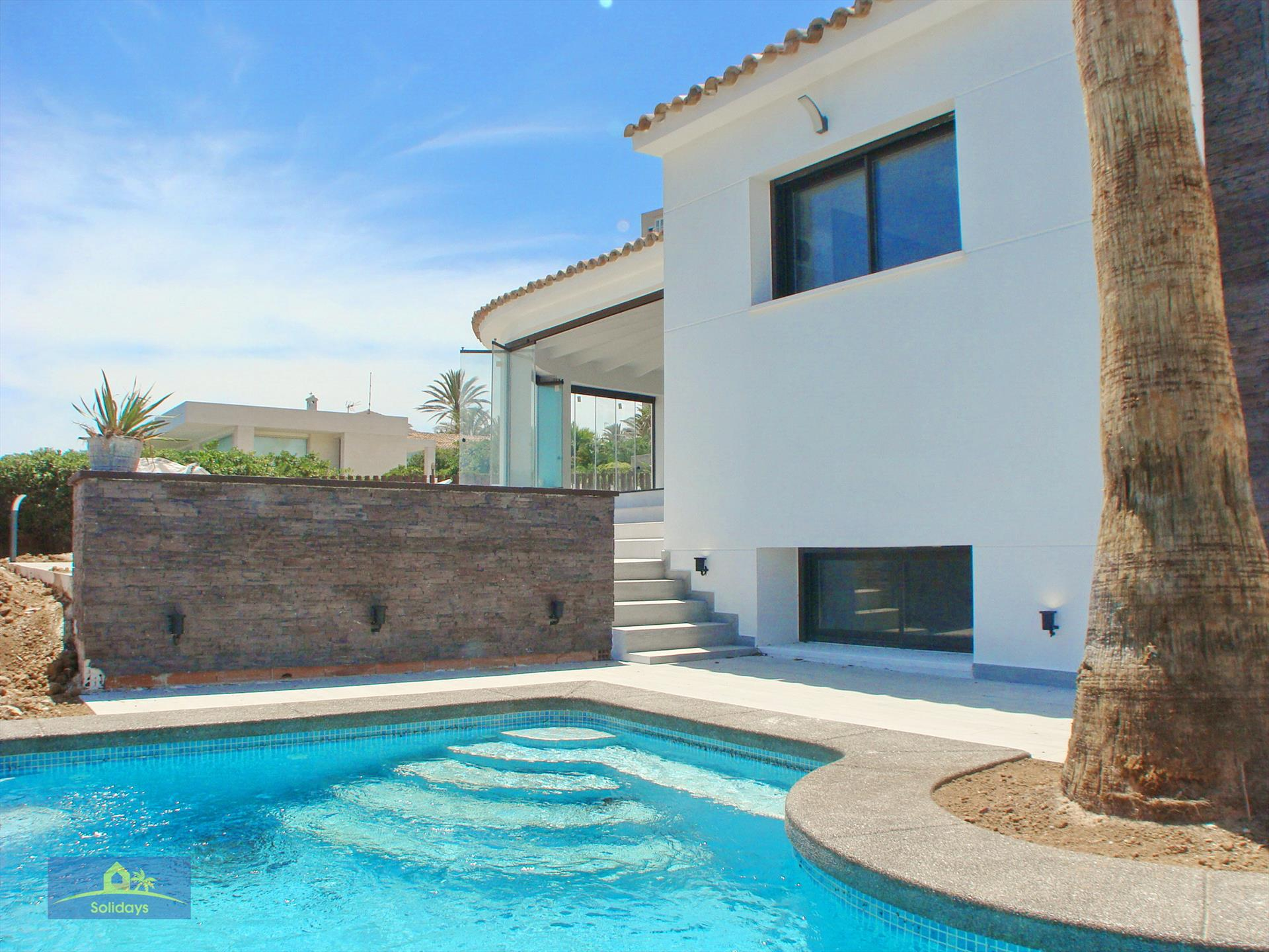 Villa Ultramar, Modern and  luxury villa in Javea, on the Costa Blanca, Spain  with heated pool for 10 persons.....