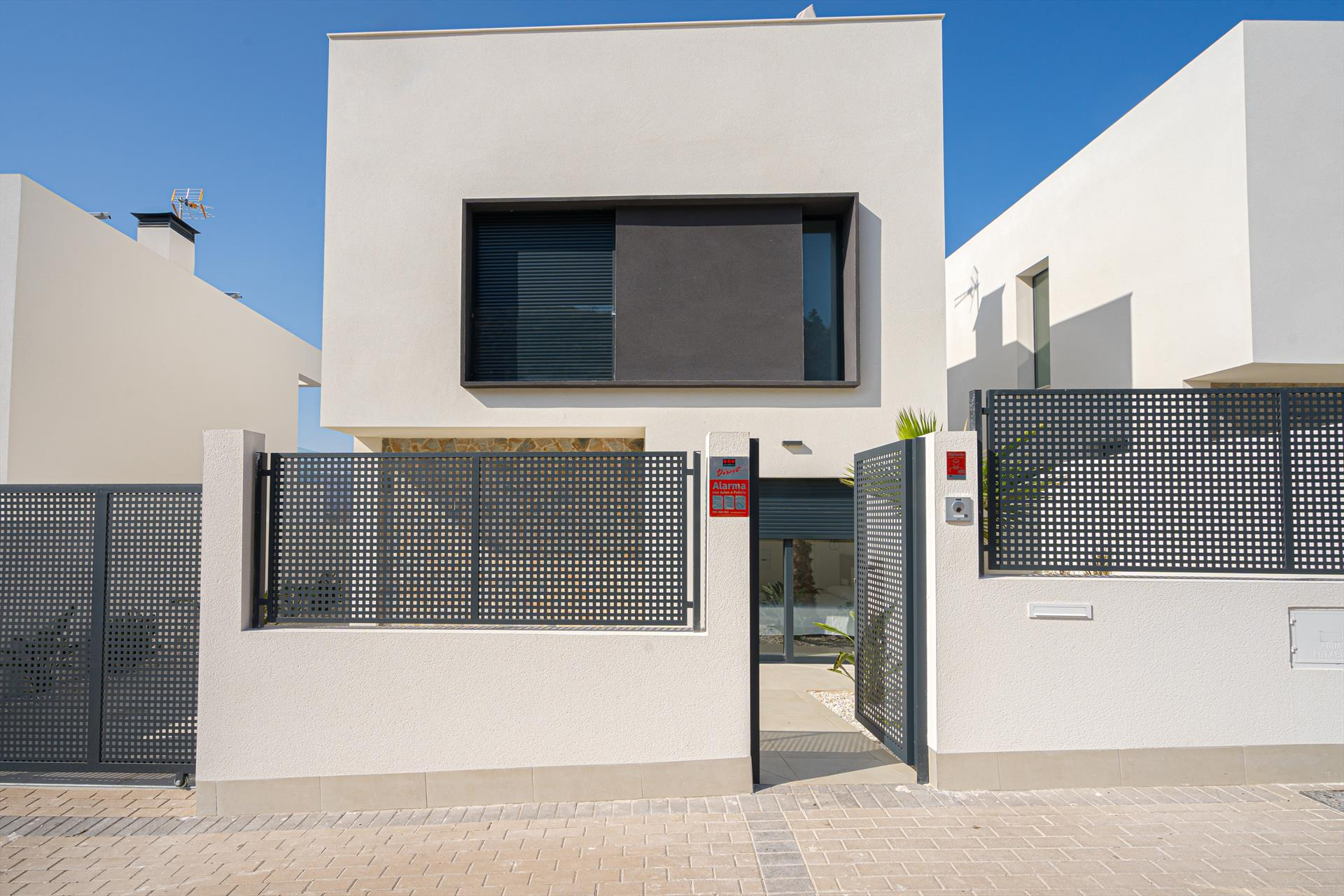 Isla,Modern villa in Aguilas, Murcia, Spain  with heated pool for 6 persons.....