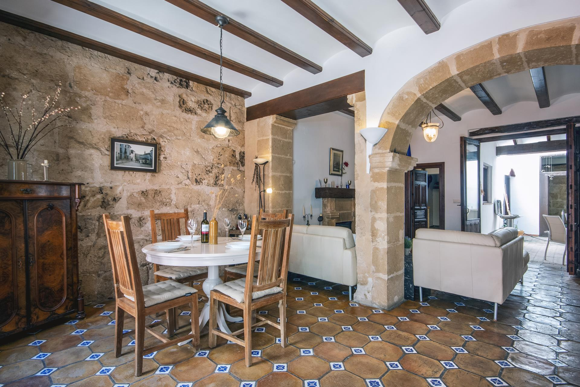 Elsa, Rustic and classic house  with private pool in Javea, on the Costa Blanca, Spain for 4 persons...