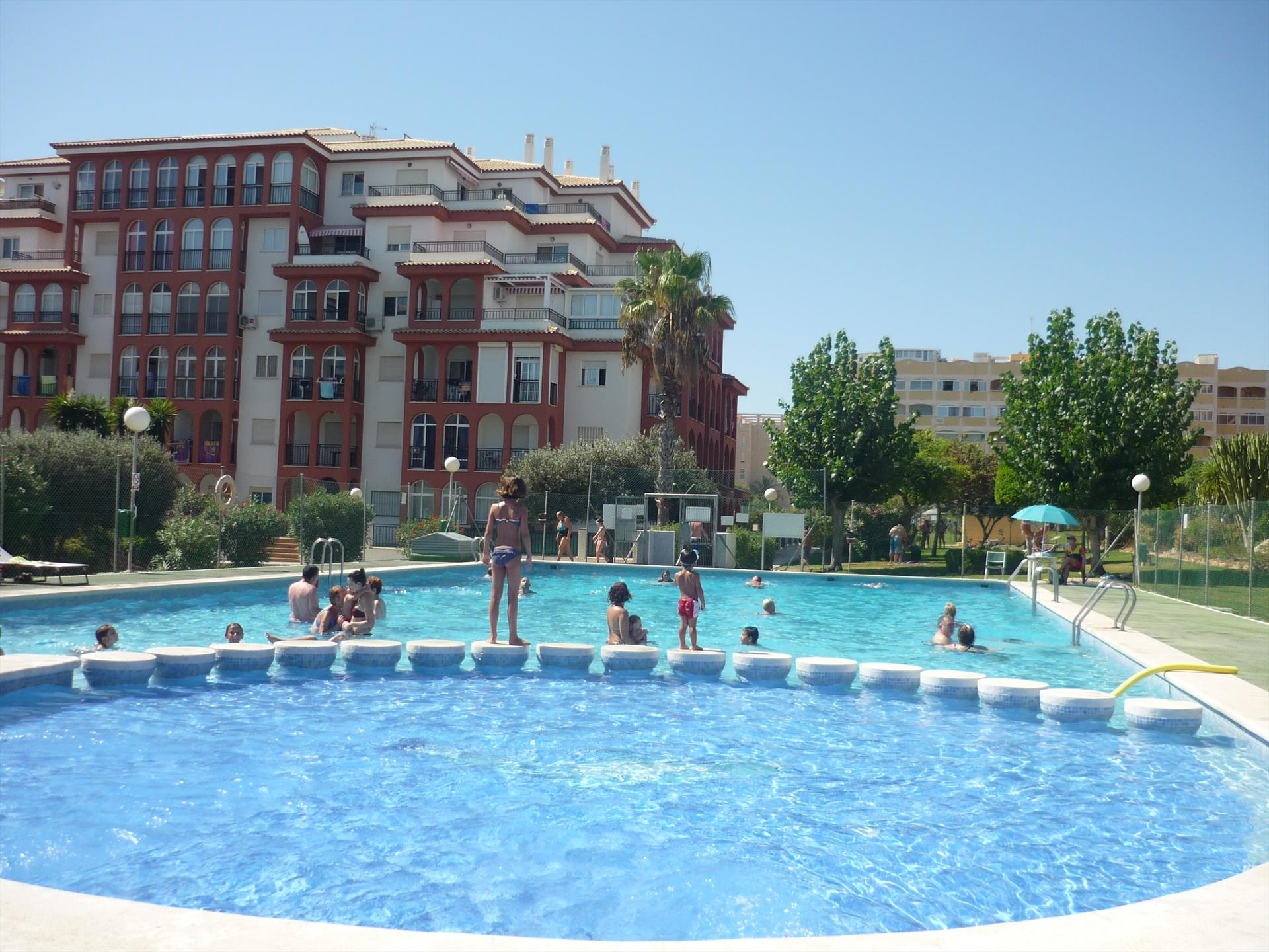 Liria, Lovely apartment  with communal pool in La Mata, on the Costa Blanca, Spain for 6 persons.....