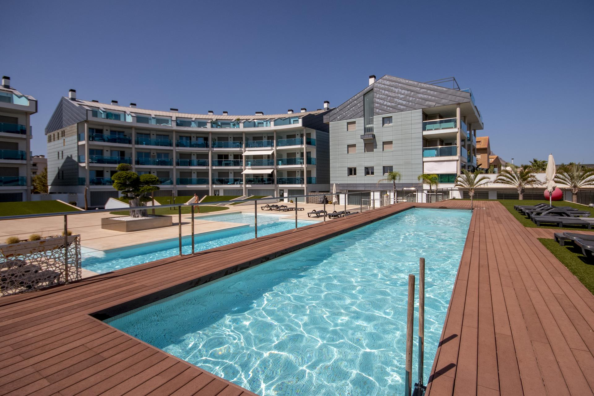 Salacia, Modern and comfortable apartment in Javea, on the Costa Blanca, Spain  with communal pool for 6 persons...