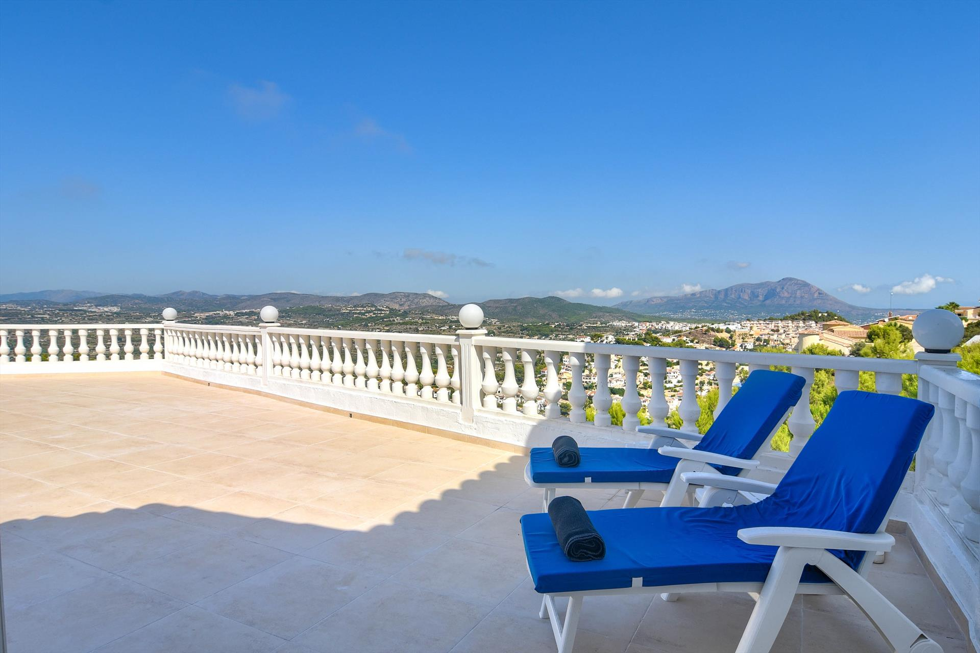 Amarige 4 pax, Large and nice villa  with private pool in Benitachell, on the Costa Blanca, Spain for 4 persons...