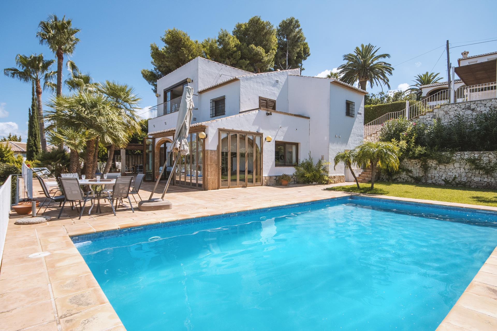 Bell Lloc 4 pax, Large and comfortable villa  with private pool in Javea, on the Costa Blanca, Spain for 4 persons...