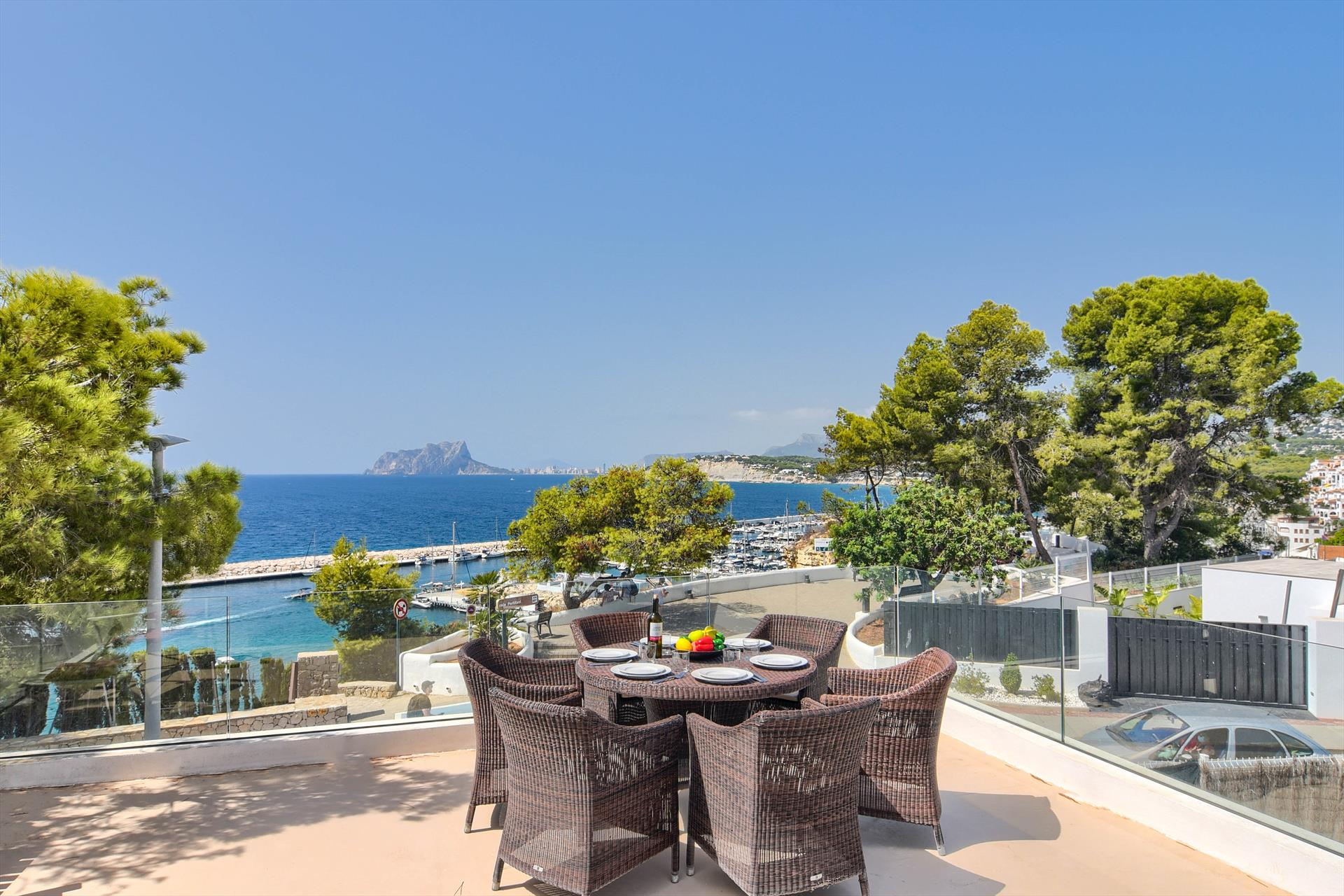 Taykuma, Wonderful and nice villa in Moraira, on the Costa Blanca, Spain for 6 persons.....