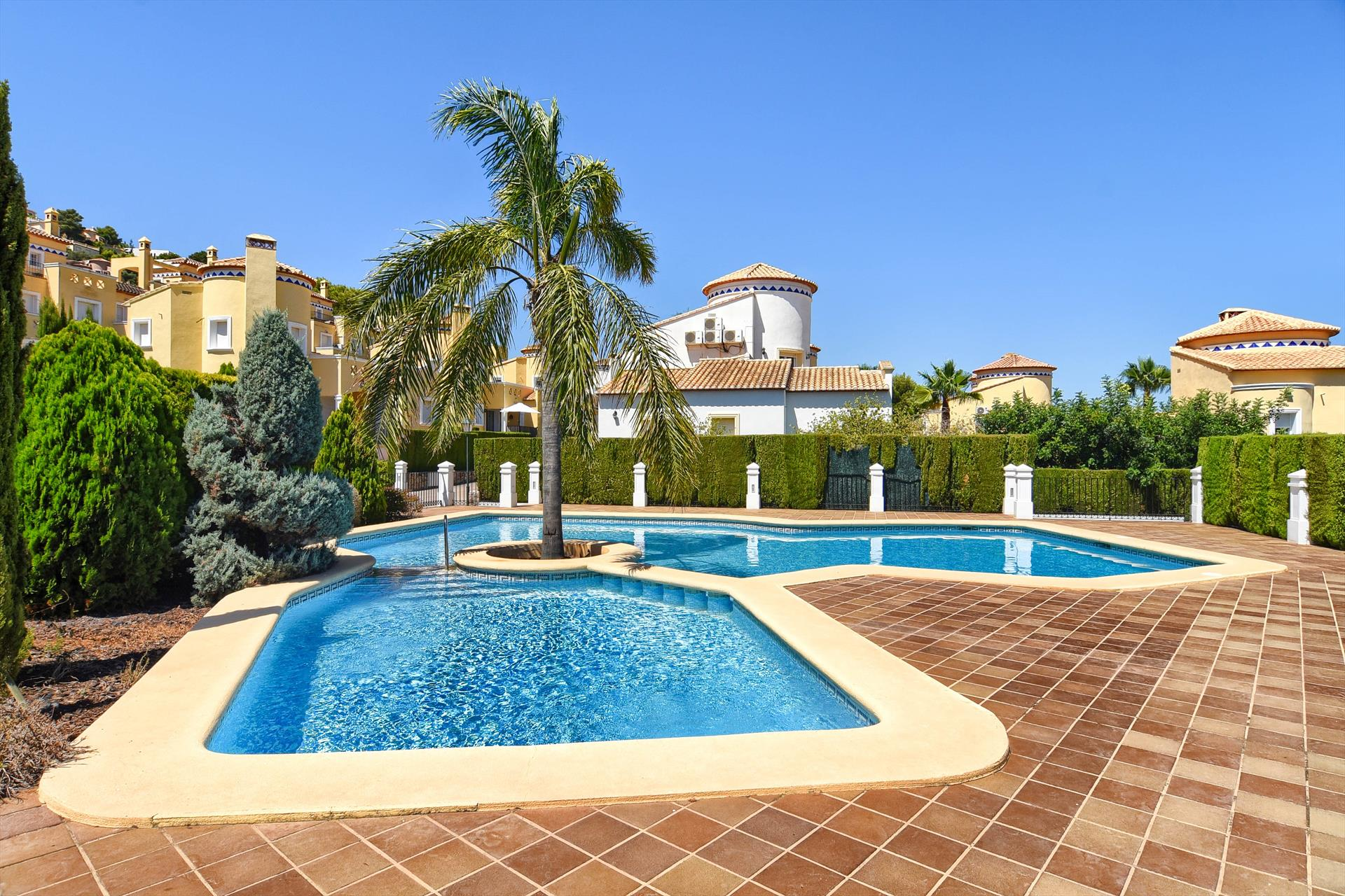 Belisa, Wonderful and cheerful villa in Denia, on the Costa Blanca, Spain  with communal pool for 4 persons...