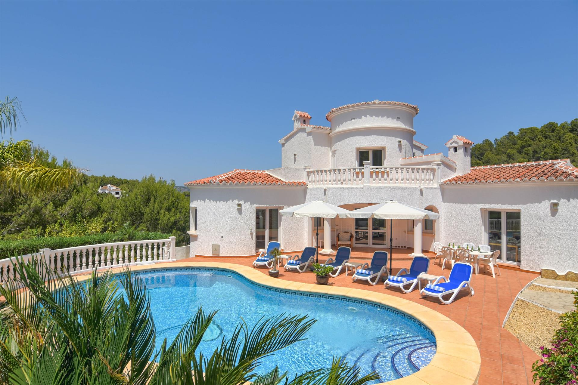 Codorniz 4 pax, Beautiful and comfortable villa in Javea, on the Costa Blanca, Spain  with private pool for 4 persons.....