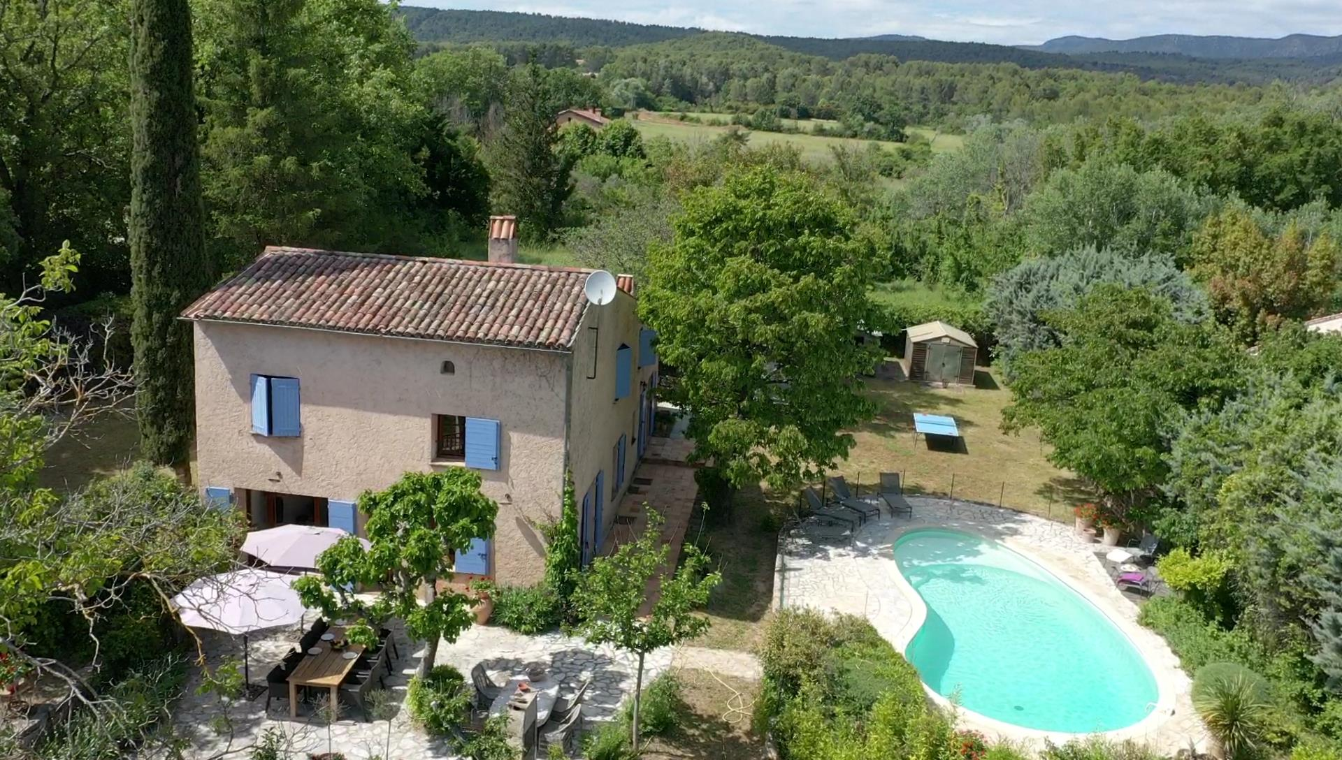 Romain, Cheerful holiday home in Salernes, in the Provence, France  with private pool for 10 persons...