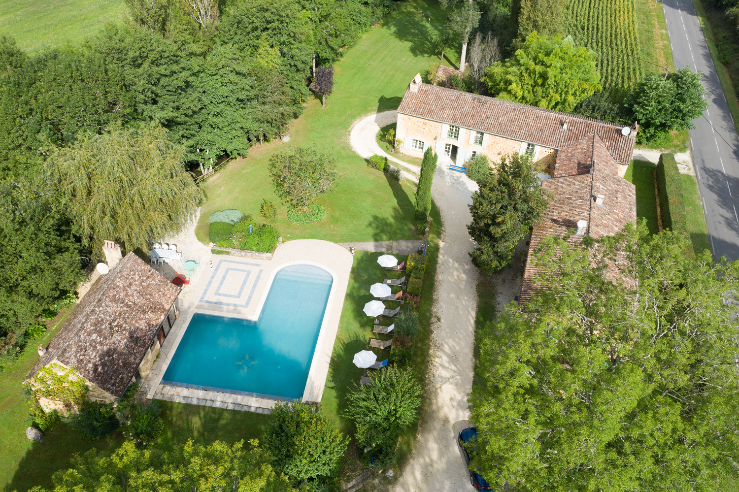 Moulin de dordogne,Large and cheerful villa in Beaumont du Perigord, Aquitaine, France  with private pool for 20 persons...