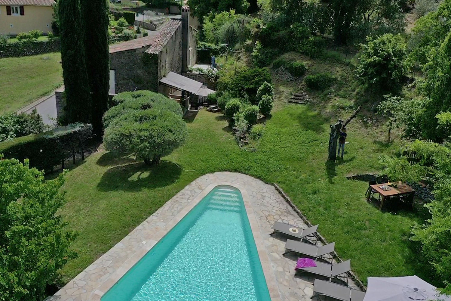 Moulin, Villa in Flayosc, in the Provence, France  with heated pool for 10 persons...