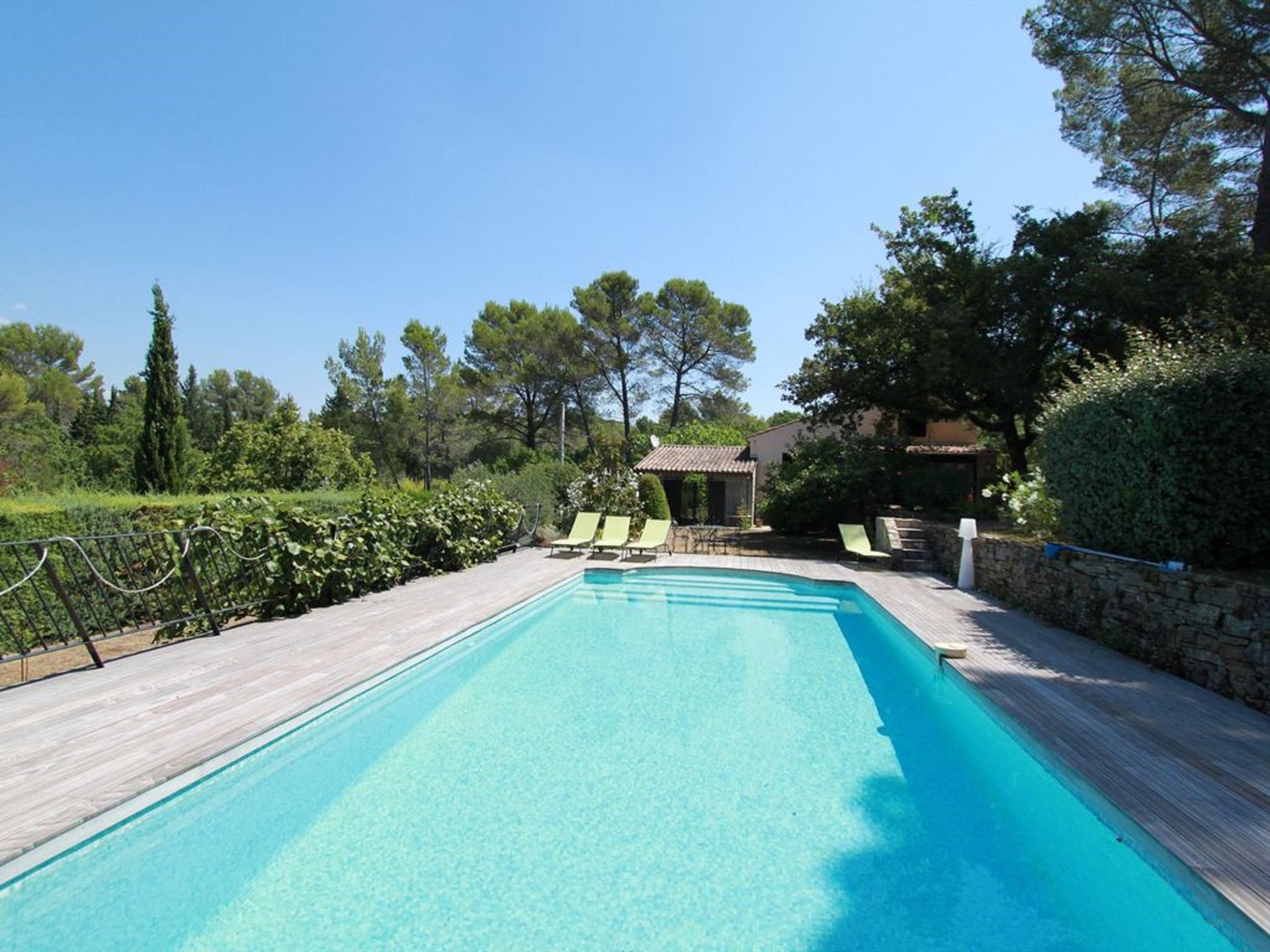 Lou niou,Schöne und romantische Villa in Tourrettes, Provence Alpes Cote d'Azur, Frankreich  mit privatem Pool für 6 Personen...