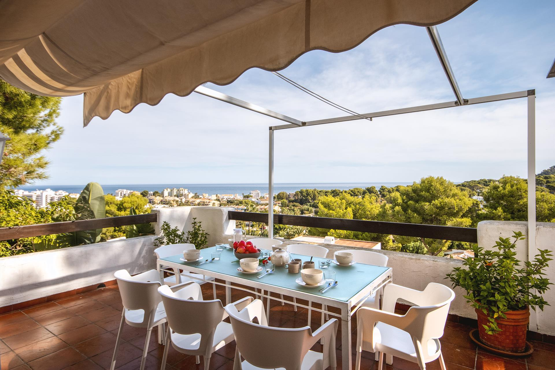 Rodat XXI 4pax, Wonderful and cheerful house  with communal pool in Javea, on the Costa Blanca, Spain for 4 persons...