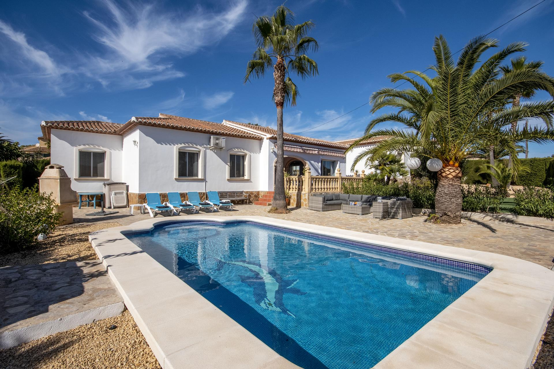 Robinho, Wonderful and comfortable villa  with private pool in Javea, on the Costa Blanca, Spain for 6 persons.....