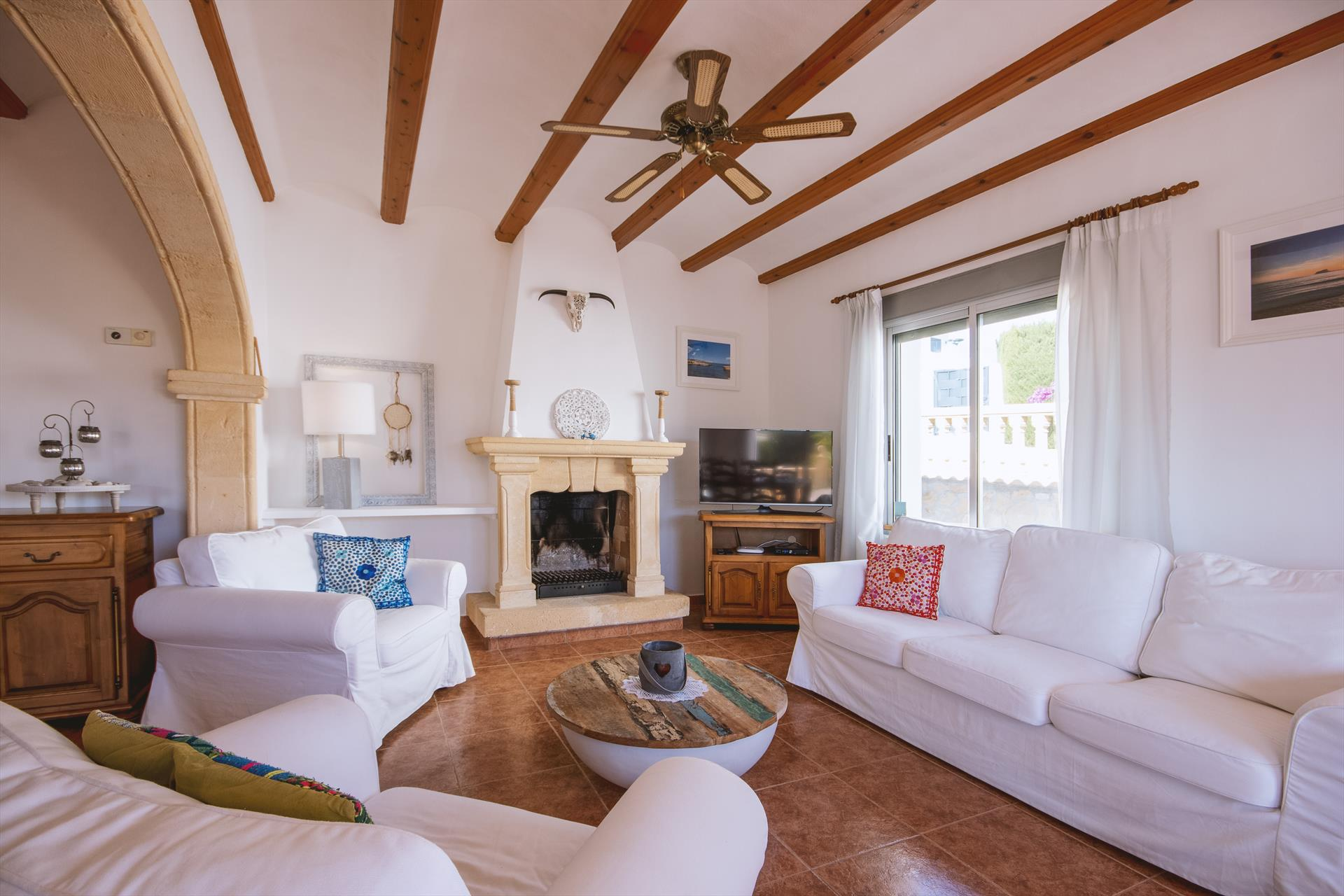 Robinho 4 pax, Wonderful and comfortable villa  with private pool in Javea, on the Costa Blanca, Spain for 4 persons...