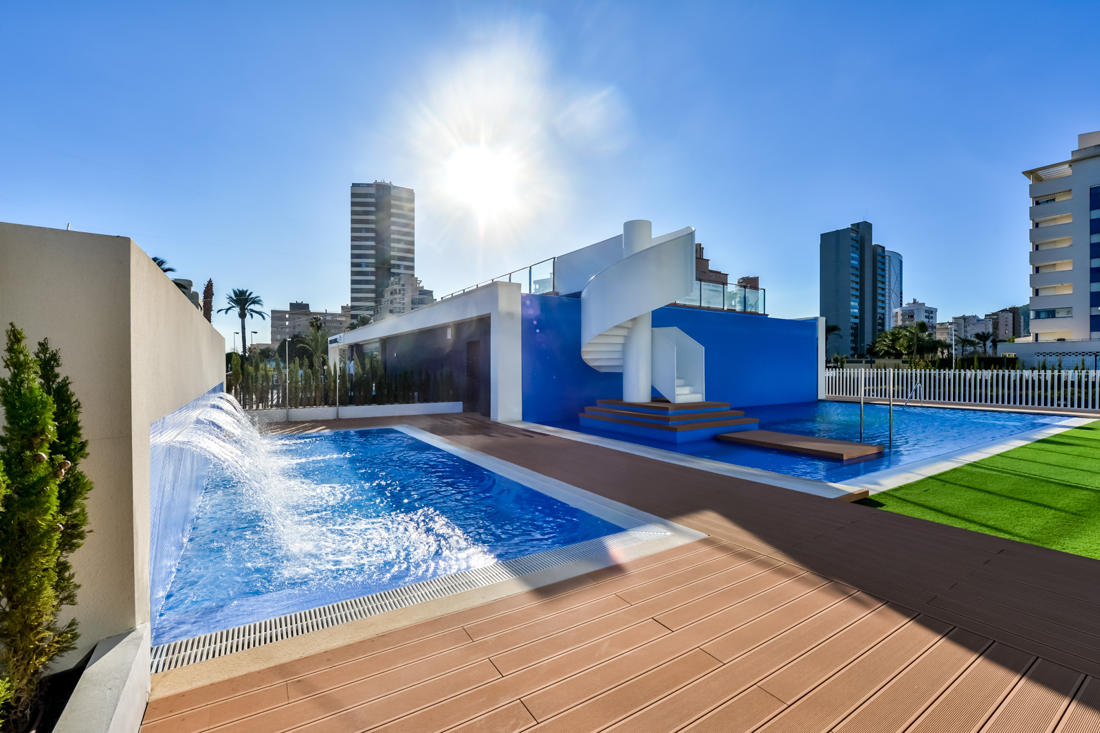 Apartamento arenal beach 512,Mooi en comfortabel appartement  met gemeenschappelijk zwembad in Calpe, aan de Costa Blanca, Spanje voor 4 personen...