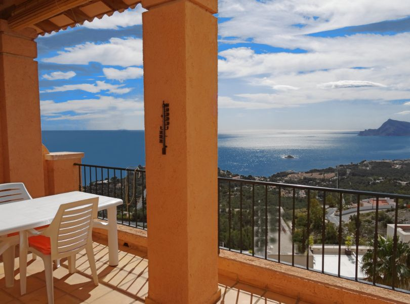 Casa Mirador, Lovely and comfortable house in Altea, on the Costa Blanca, Spain for 4 persons.....