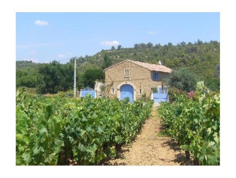 Minervois paradise,Деревенский, романтический загородный дом   с частным бассейном на 6 человек в Bize Minervois, Languedoc Roussillon, в Франции...