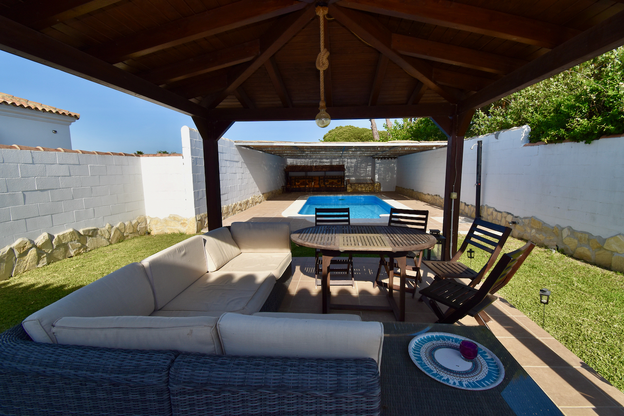 Fortuna, Beautiful and comfortable villa in Chiclana de la Frontera, Andalusia, Spain  with private pool for 6 persons.....