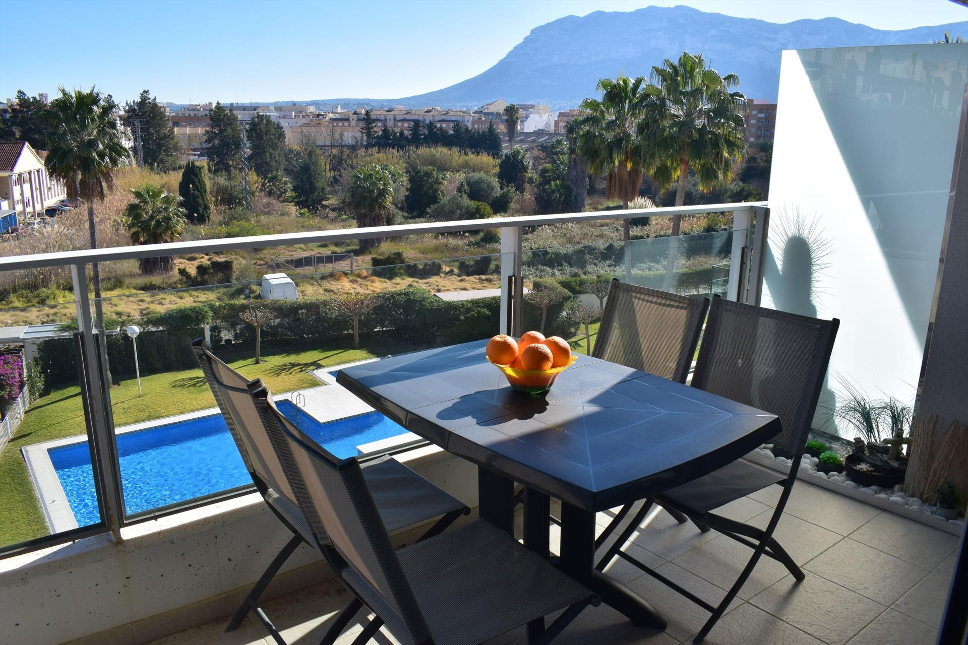Aquamaris Centro AP2233, Modern and nice apartment  with communal pool in Denia, on the Costa Blanca, Spain for 4 persons.....