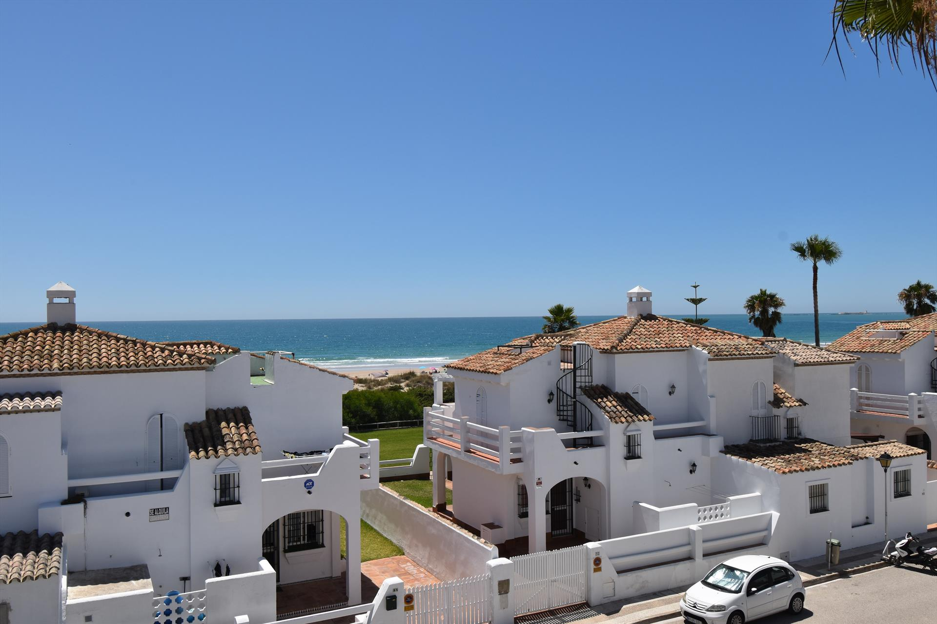 Barbara, Lovely and comfortable house in Chiclana de la Frontera, Andalusia, Spain  with communal pool for 5 persons.....