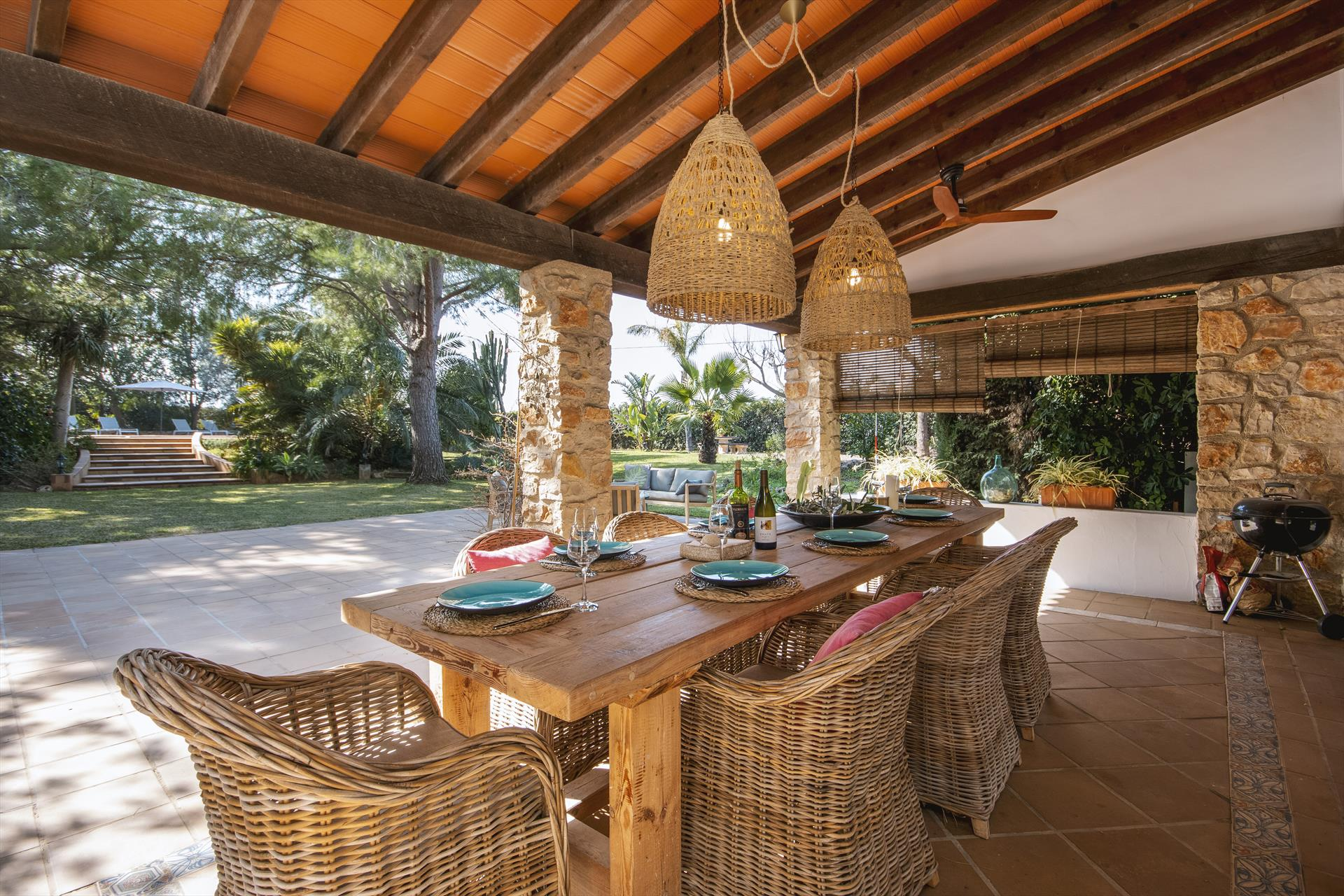 Xarabella, Beautiful and romantic villa  with private pool in Denia, on the Costa Blanca, Spain for 8 persons.....
