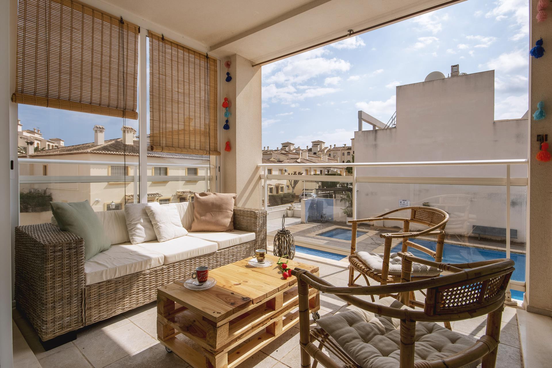 Cala Ro,Modern en leuk appartement in Javea, aan de Costa Blanca, Spanje  met gemeenschappelijk zwembad voor 6 personen...