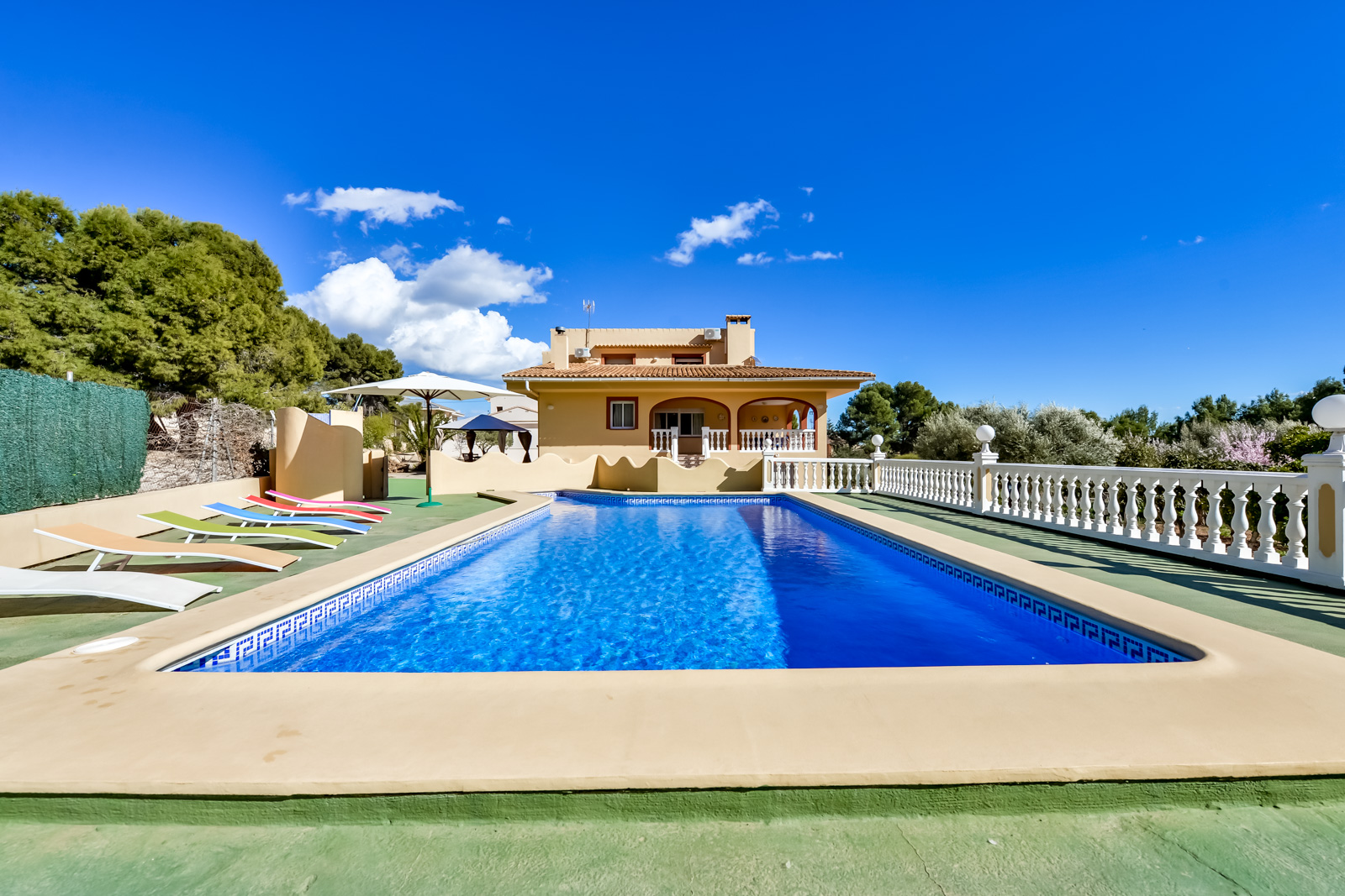 Villa Mola, Villa in Calpe, on the Costa Blanca, Spain  with private pool for 8 persons.....